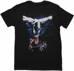 Venom Tongue Splatter T Shirt Sheer
