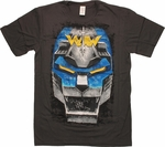 Voltron Blue Lion T-Shirt Sheer