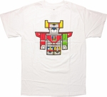 Voltron Chibi Lion Force T Shirt