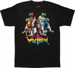 Voltron Five Lions T Shirt