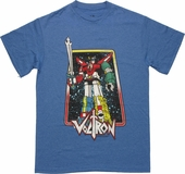 Voltron Framed Lion Force Robot T Shirt