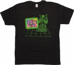 Voltron Group Faces T-Shirt Sheer