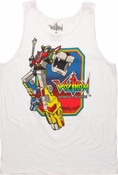 Voltron Lion Force Frame Tank Top