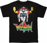 Voltron Lion Force Head T Shirt