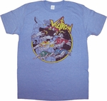 Voltron Lion Force T Shirt Sheer