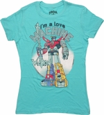 Voltron Love Machine Baby Tee