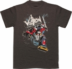 Voltron Vehicle Robot Vintage T Shirt