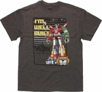 Voltron Well Built T Shirt