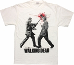 Walking Dead Axe Walker Head T Shirt
