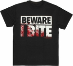 Walking Dead Bite Reversible Mask T Shirt