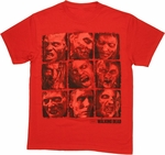 Walking Dead Boxed Walkers T Shirt