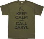 Walking Dead Call Daryl T Shirt