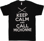 Walking Dead Call Michonne T Shirt Sheer