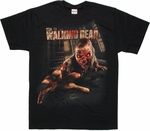 Walking Dead Cell Block Crawler T Shirt