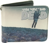Walking Dead Comic 100 Wrap Cover Bifold Wallet