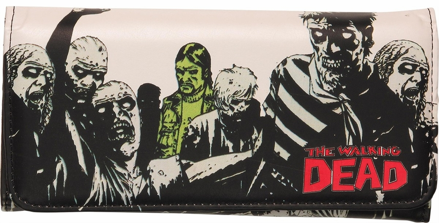 walking dead comic governor clutch wallet