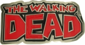 Walking Dead Comic Logo Belt Buckle