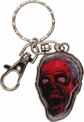Walking Dead Comic Zombie Head Keychain