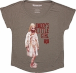 Walking Dead Daddys Girl Ladies Tee