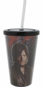 Walking Dead Daryl and Zombie Travel Cup