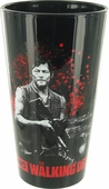 Walking Dead Daryl Black Pint Glass