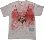 Walking Dead Daryl Costume T Shirt