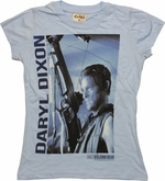 Walking Dead Daryl Dixon Name Baby Tee