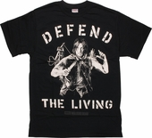 Walking Dead Defend The Living T-Shirt