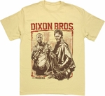Walking Dead Dixon Bros T Shirt