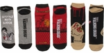 Walking Dead Fence Screwdriver Sunshine Mens Low Cut 3 Pair Socks Set