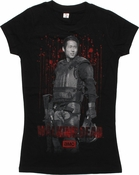 Walking Dead Glenn Riot Gear Baby Tee