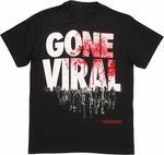 Walking Dead Gone Viral T Shirt