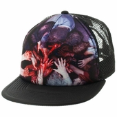 Walking Dead Hands Sublimated Trucker Hat