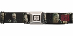 Walking Dead Merle Dixon Zombie Seatbelt Mesh Belt