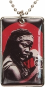 Walking Dead Michonne Dog Tag