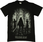 Walking Dead Michonne Introduction T Shirt