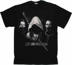 Walking Dead Michonne Pet Heads T Shirt