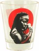 Walking Dead Michonne Shot Glass