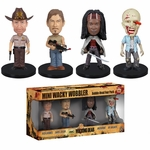 Walking Dead Mini Bobblehead Set