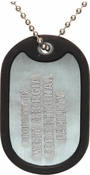 Walking Dead Property Dog Tag