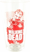 Walking Dead Red Zombie Pint Glass