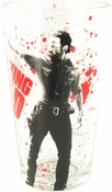 Walking Dead Rick Aim Pint Glass