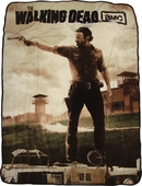 Walking Dead Rick Aiming Blanket