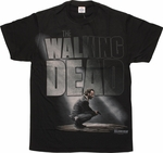Walking Dead Rick Crouching T-Shirt