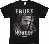 Walking Dead Rick Trust Nobody T-Shirt