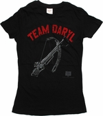Walking Dead Team Daryl Crossbow Baby Tee