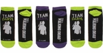 Walking Dead Team Daryl Ladies Low Cut 3 Pair Socks Set