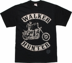 Walking Dead Walker Hunter T Shirt