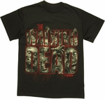 Walking Dead Walkers Logo T Shirt