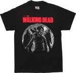 Walking Dead Walkers Moon T Shirt